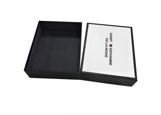 Uv Logo Lid And Base Boxes For Packaging Shoes Moisture Proof Stock Sturdy