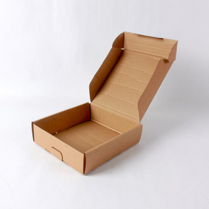 Original Color Custom Shipping Boxes Flat Pack With Corrugated Material