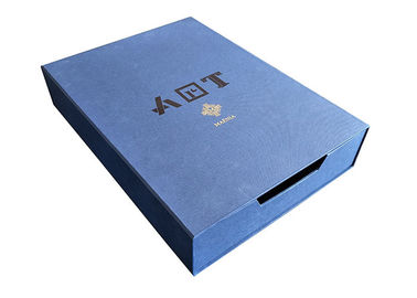 China Light Blue Sliding Paper Box Accept Custom Recyclable Environment Friendly factory