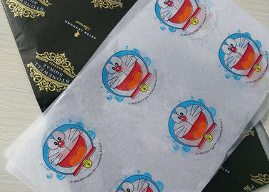 China Moisture Proof Silk Tissue Wrapping Paper With Cartoon Image Printed Pattern factory