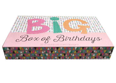 China Custom Design Book Shaped Box Colorful Handmade Gift Packaging For Girls Dress factory