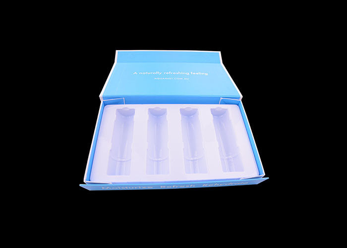 Cosmetic Foldable Packing Box , Collapsible Inner Support White Flat Gift Box supplier