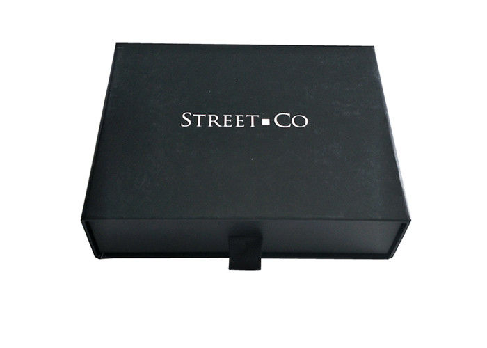 Clothes Shirt Packaging Custom Slide Boxes Spot UV Material Surface Personalised supplier