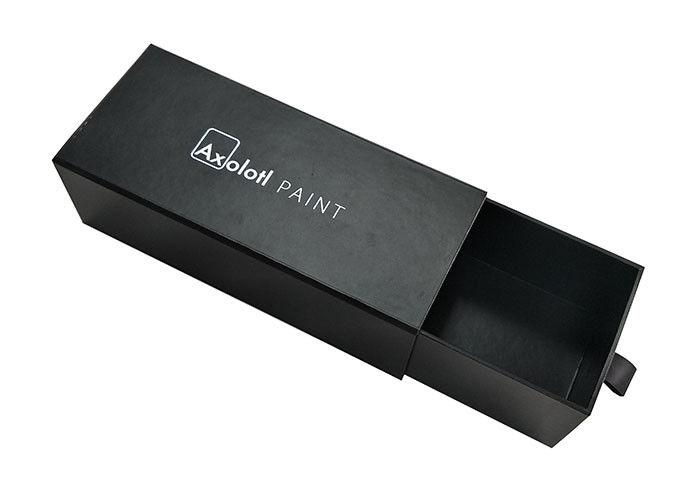black lamination paper slide box  professional printing