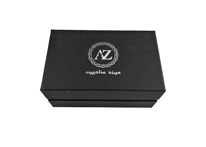 Black Rigid Cap Top Lid And Base Boxes Paper Packaging For Men'S Leather Belts supplier