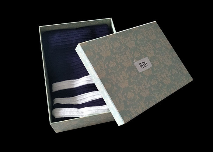 Custom Lid And Base Boxes , Rigid Gift Boxes With Lids For Clothes Packaging supplier