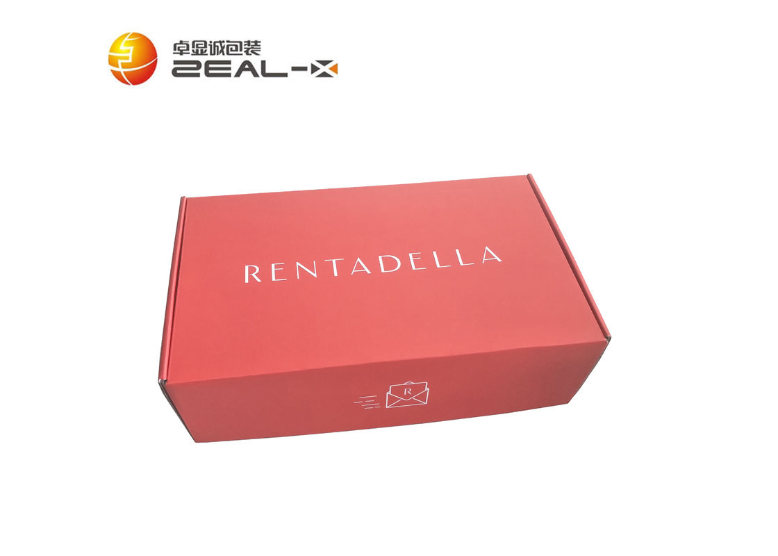 Full Color Printed Clothing Packaging Boxes With Corrugated Board Material supplier