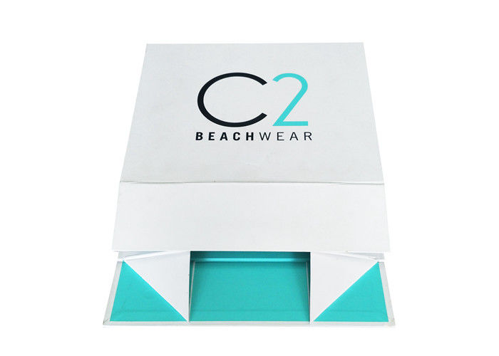 Paperboard Folding Box Packaging Magnetic Closure For Swimwear ZXC-001 supplier