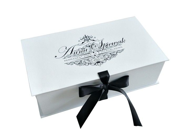 1200gsm Paperboard Foldable Gift Boxes For Make - Up Tools Packaging supplier