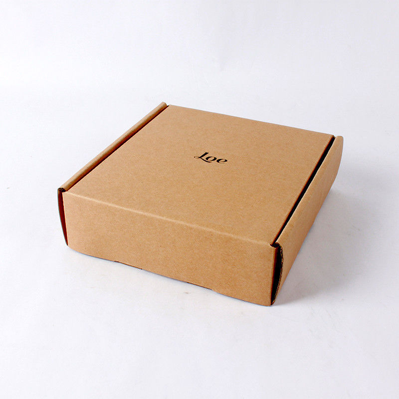 Original Color Custom Shipping Boxes Flat Pack With Corrugated Material supplier