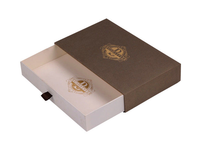 Eco - Friendly Sliding Paper Box Drawer Type Apparel ISO9001 Certificated supplier