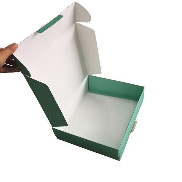 350gsm White Cardboard Paper Box Full Color Printed ...